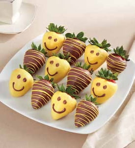 Smileberry Smiles Dipped Strawberries