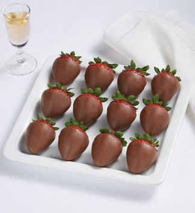 Berrylicious Dipped Strawberries - All Milk Choc.